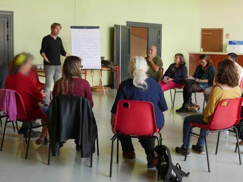 """Atelier Gesticulé """"S'engager pour nos villages de demain"""""""