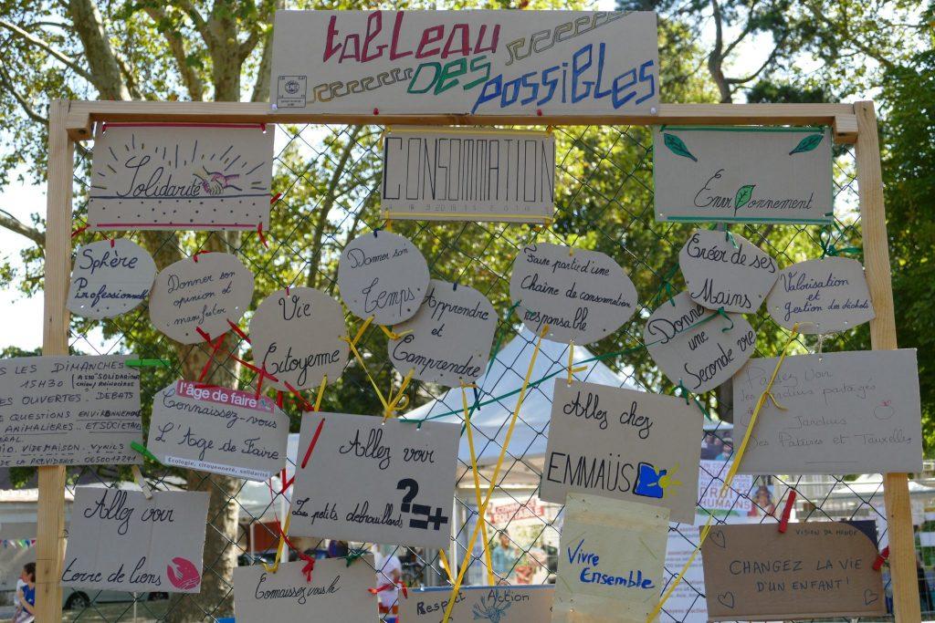 Tableau des possibles - création participative