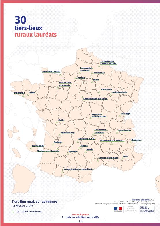 Dossier de presse - Laureat des Tiers-lieux