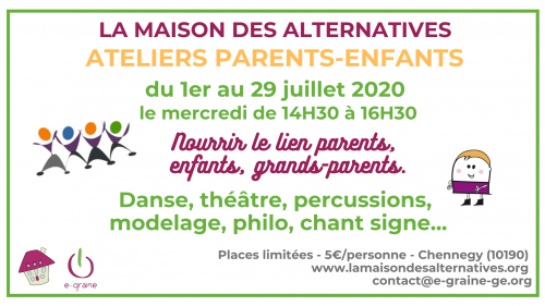 Ateliers parents-enfants